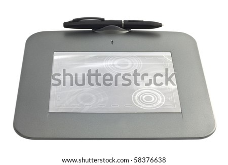 map-case isolated in white background