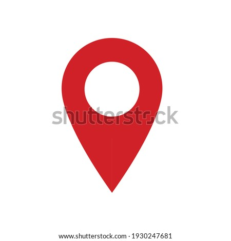 Map location marker pin symbol Foto stock ©