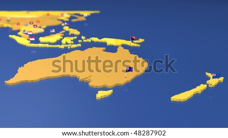 maps of australia with capital cities. hair Australia Map maps of