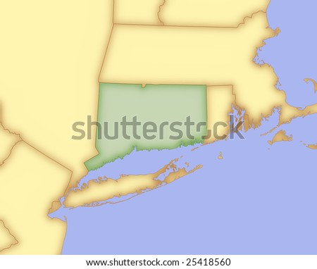 Connecticut Bordering States