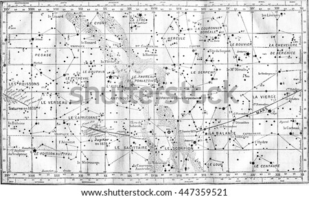 map of constellations. from...