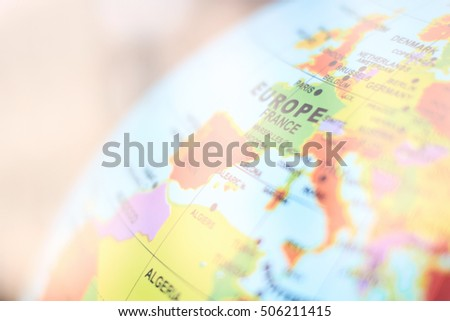 Map of Europe background #506211415