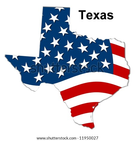 map of texas state. stock photo : map of the state