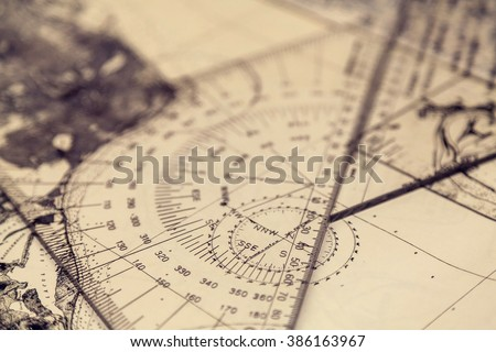 Maps and plotter