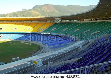 Maracana Stadium in a empty day