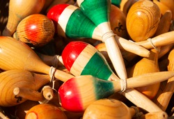 Maracas sometimes called rumba shaker, chac-chac are a traditional musical instrument or rattle used in Latin America and Mexico