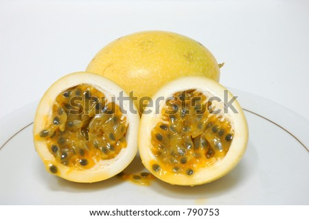Maracuja Fruit - stock photo