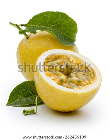Maracuja, passion-fruit