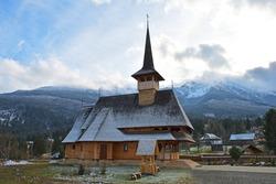 Maramures, Romania. Wooden church