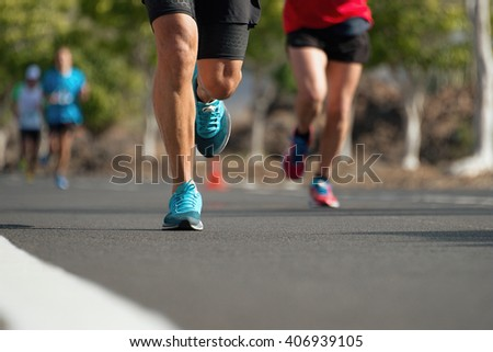 Marathon runners #406939105