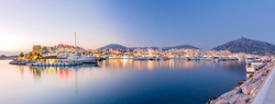 Marbella landscape (Puerto Banus)