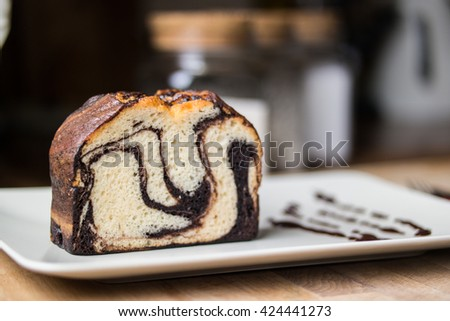 marble cake chocolate