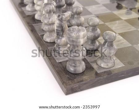 Marble Chess Board Stock Photo 2353997 Shutterstock