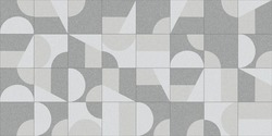 Marble kitchen and bathroom wall tile with abstract mosaic geometric pattern use in graphic design and wallpaper