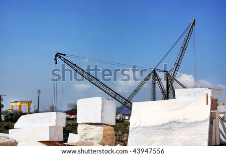 Marble quarry at Portugal.