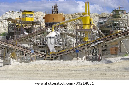 marble quarry equipment