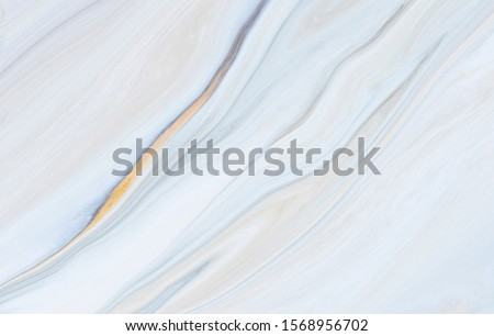 Marble rock texture blue ink pattern liquid swirl paint white dark Illustration background for do ceramic counter tile silver gray that is abstract waves for skin wall luxurious art ideas concept.