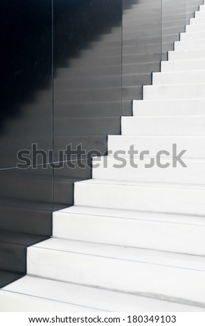 Marble stairs #180349103