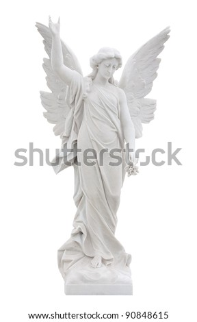 marble statue of a beautiful...