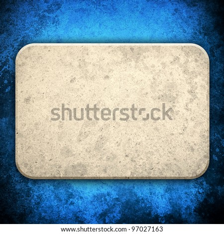 marble stone tablet