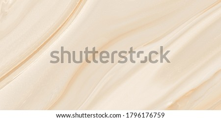 Marble texture background pattern with high resolution, onyx marbel, close up polished surface of natural stone, luxurious abstract wallpaper, Polished Beige Wooden Marble Slab for Wall decoration. Stockfoto ©