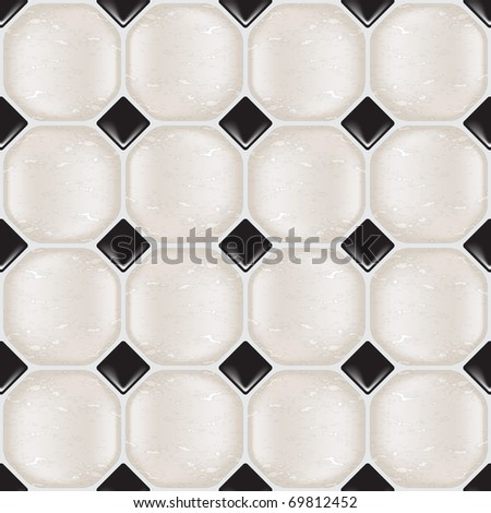 Marble tiles in natural tones, seamless. Also available in vector format.