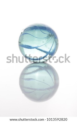 marbles, sphere, crystal, transparent, reflection #1013592820