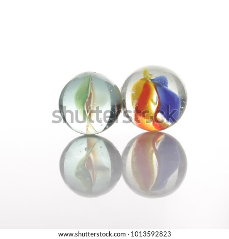 marbles, sphere, crystal, transparent, reflection #1013592823