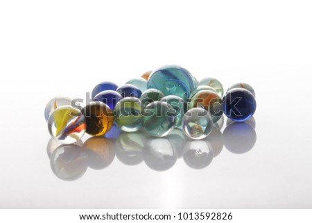marbles, sphere, crystal, transparent, reflection #1013592826
