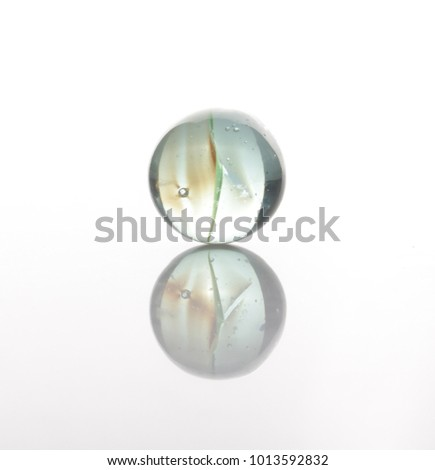 marbles, sphere, crystal, transparent, reflection #1013592832