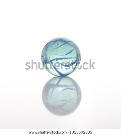 marbles, sphere, crystal, transparent, reflection #1013592835
