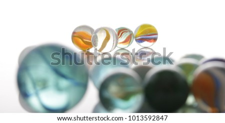 marbles, sphere, crystal, transparent, reflection #1013592847