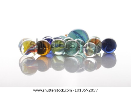 marbles, sphere, crystal, transparent, reflection #1013592859