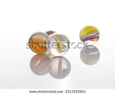 marbles, sphere, crystal, transparent, reflection #1013592865
