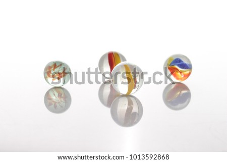 marbles, sphere, crystal, transparent, reflection #1013592868
