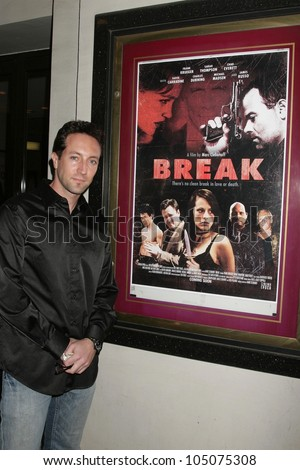 Marc Clebanoff at a Special Industry Screening of \'Break\'. Laemmle\'s Music Hall 3, Beverly Hills, CA. 05-01-09 at a Industry Screening of \'Break\'. Laemmle\'s Music Hall 3, Beverly Hills, CA. 05-01-09