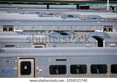 March 24, 2018: Chelsea - Penn Station, New York, US #1058121740