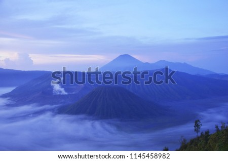 March 2013, the morning in Mount Bromo East Java Indonesia.1 #1145458982