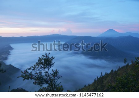 March 2013, the morning in Mount Bromo East Java Indonesia. #1145477162