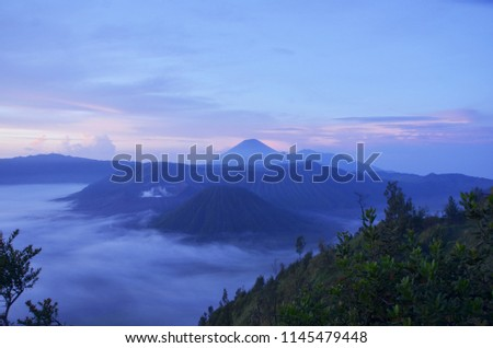 March 2013, the morning in Mount Bromo East Java Indonesia. 5 #1145479448