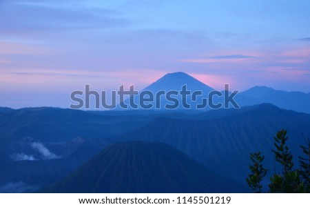 March 2013, the morning in Mount Bromo East Java Indonesia. 8 #1145501219