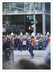 Marching Band at Macy's Day Parade