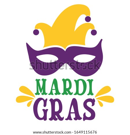 Mardi Gras, or Fat Tuesday as it's also known, is the Christian feasting period before the start of Lent on Ash Wednesday. ... French-Canadian explorer Pierre Le Moyne d'Iberville arrived in what is n Foto stock ©