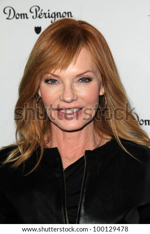 Marg Helgenberger at the W Magazine Best Performances Issue Golden Globes Party, Chateau Marmont, West Hollywood, CA 01-13-12