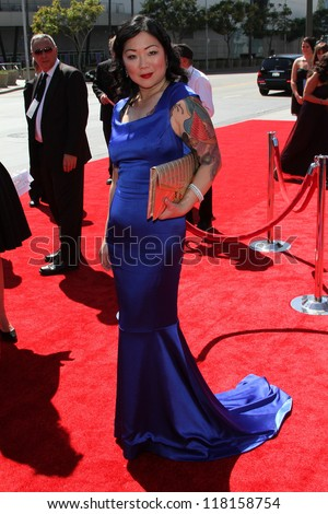 Margaret Cho at the 2012 Primetime Creative Arts Emmy Awards, Nokia Theater L.A. Live, Los Angeles, CA 09-15-12