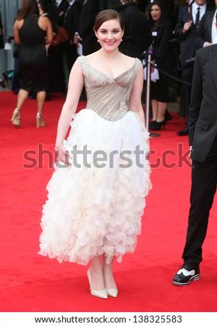Maria Anastacia Keogh arriving for the TV BAFTA Awards 2013, Royal Festival Hall, London. 12/05/2013