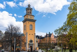 Maria Magdalena Church is a church in central Stockholm, Sweden. The garden and the old cemetery with the graves of famous people. The church's history dates back to the 1350s.