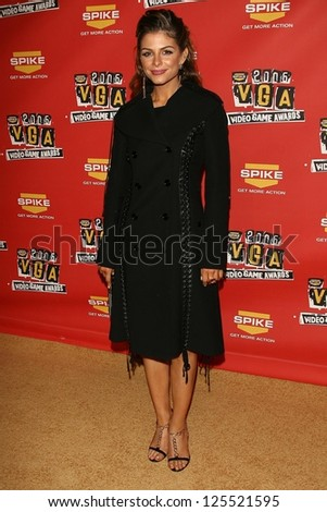 Maria Menounos at Spike TV\'s 2006 Video Game Awards. The Galen Center, Los Angeles, California. December 8, 2006.