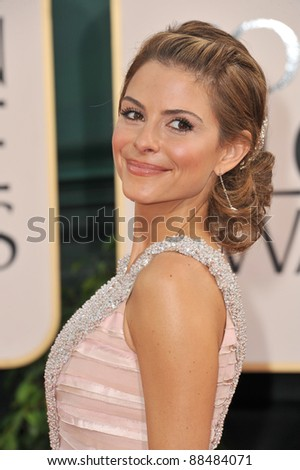 Maria Menounos at the 68th Annual Golden Globe Awards at the Beverly Hilton Hotel. January 16, 2011  Beverly Hills, CA Picture: Paul Smith / Featureflash