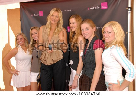 Maria Sharapova  at the opening of the new T-Mobile Store in  Canoga Park featuring a Maria Sharapova look-a-like contest, T-Mobile, Canoga Park, CA. 10-31-09